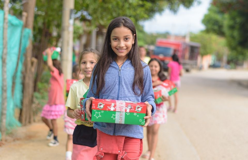 Operation Christmas Child international